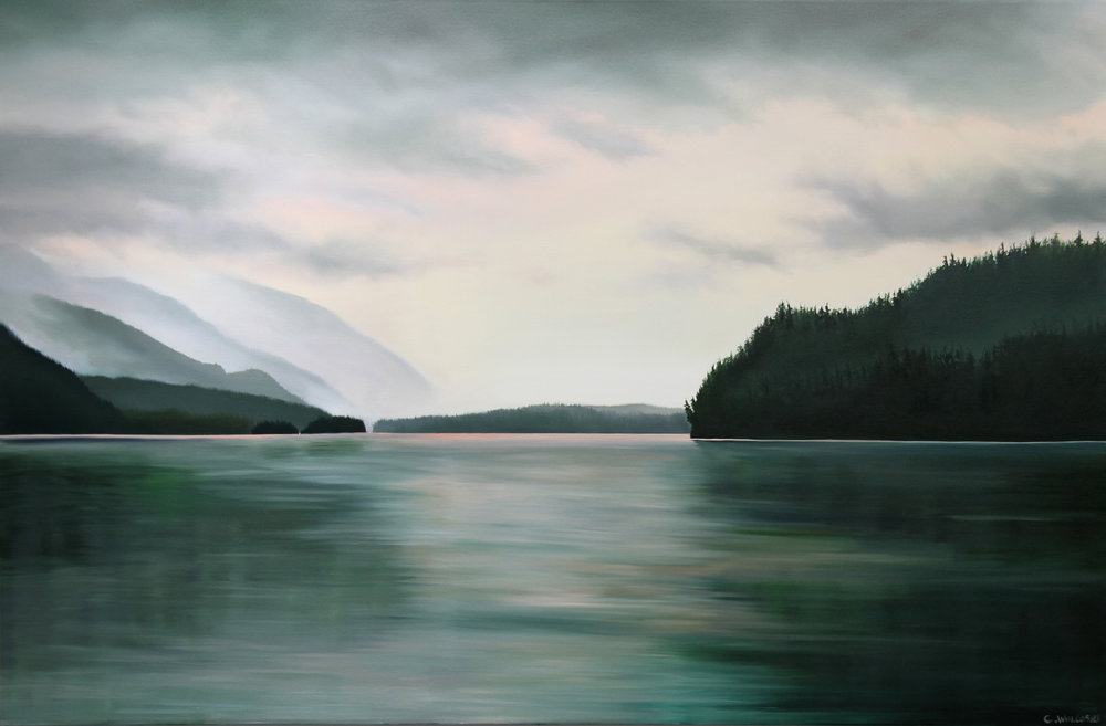 Dawn at Phillips Head<Br>40 x 60<Br>Oil on Canvas<br> SOLD