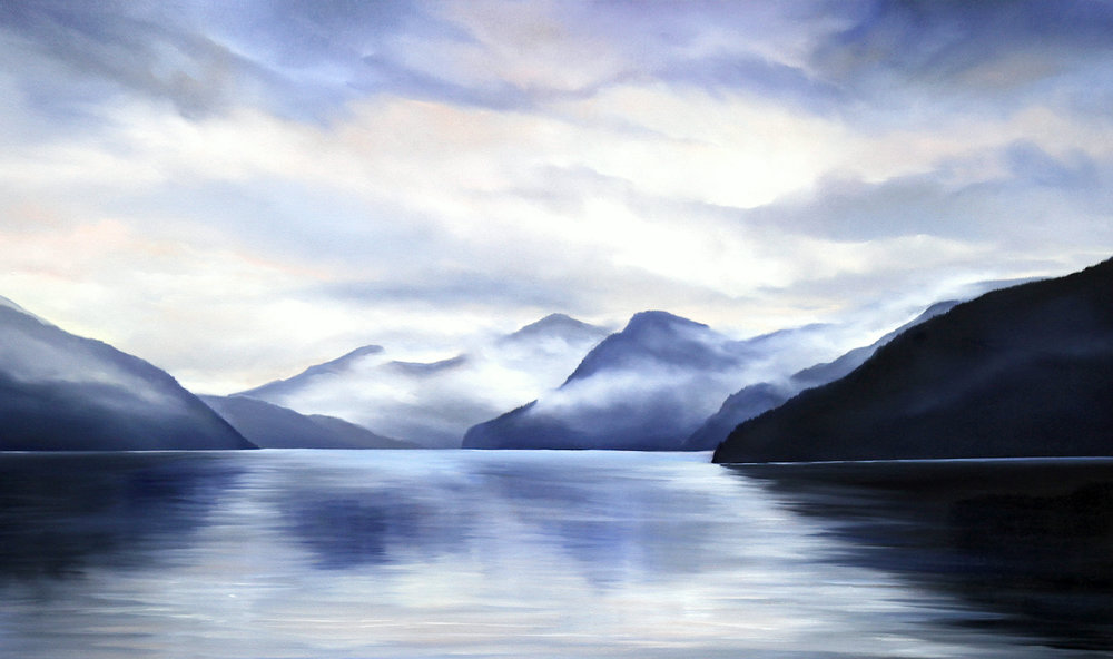 West Coast Splendour  36 x 60  Oil on Canvas  SOLD