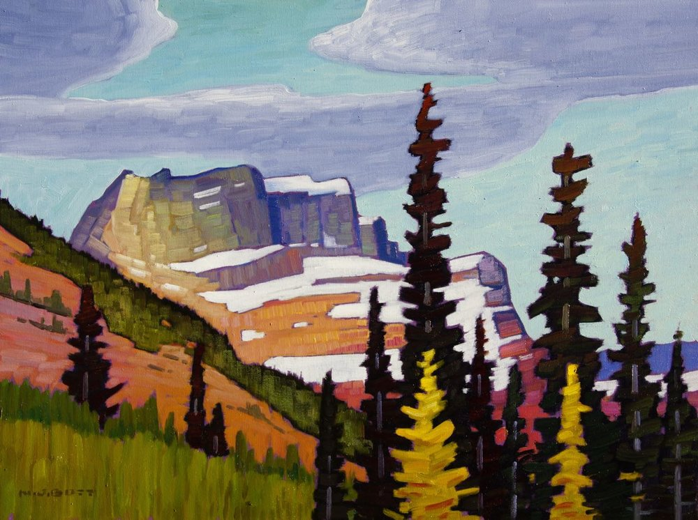 Mountain Splendour  18 x 24  Oil on Canvas  SOLD