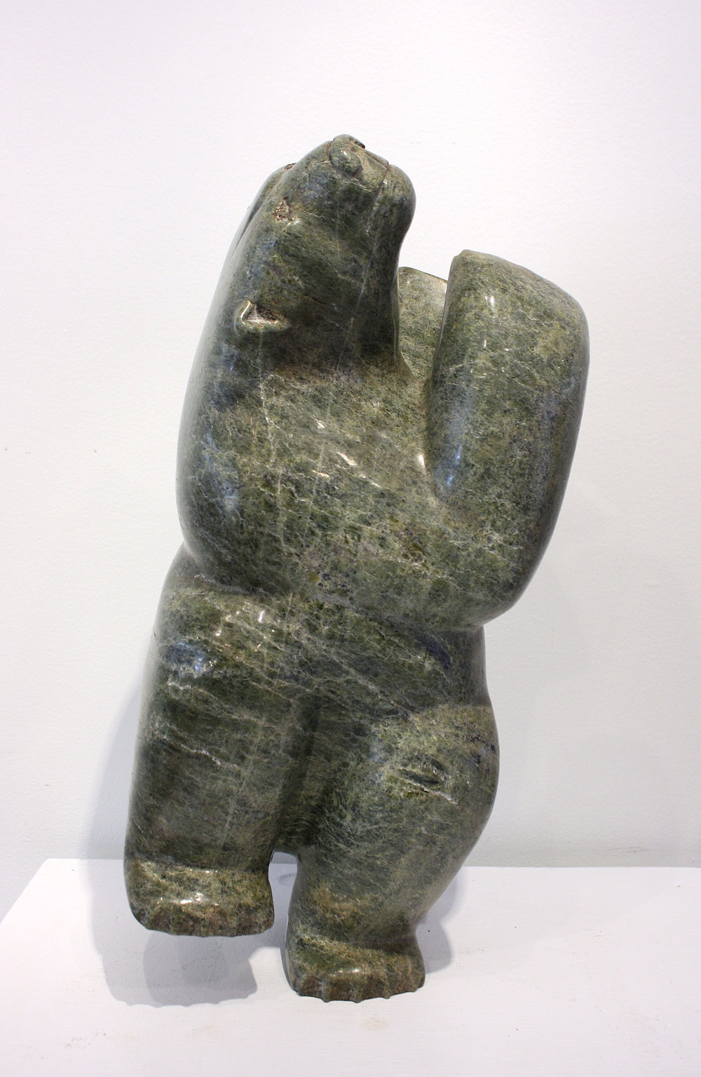Isaaci Petaulassie	Dancing-Diving Bear	18x7x8	Serpentine.jpg