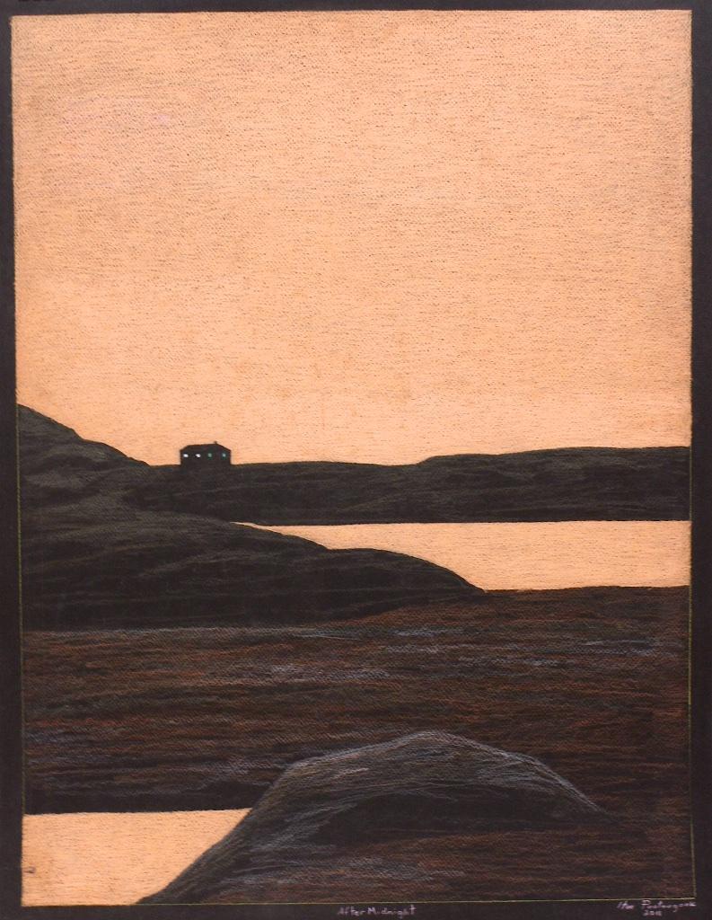 After Midnight<br> 20 x 26 <br> Pastel on Paper <br> $1700 (framed)