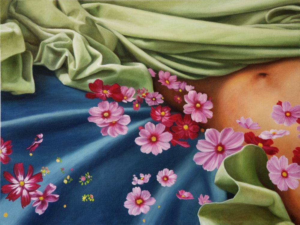 Secret Garden<Br>18 x 24<Br>Oil on Canvas<Br>$ 2075