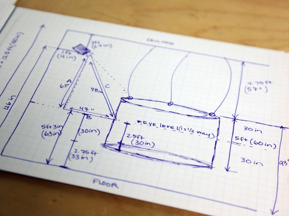 working out dimensions