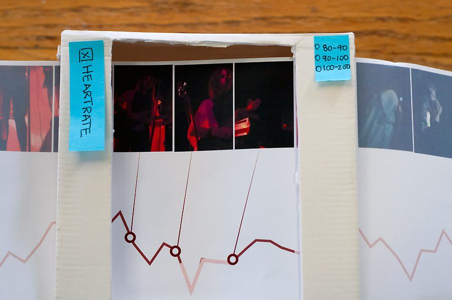 Lo-fi paper prototype.
