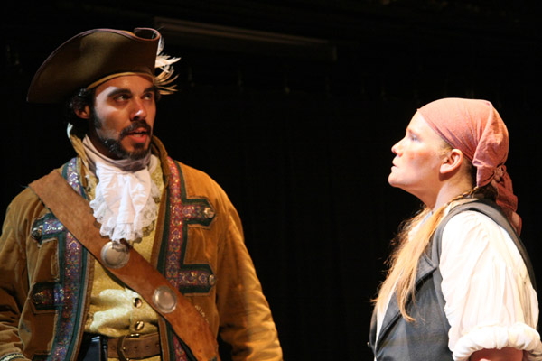"""Captain Levoisseur"" in BLOODY BESS"