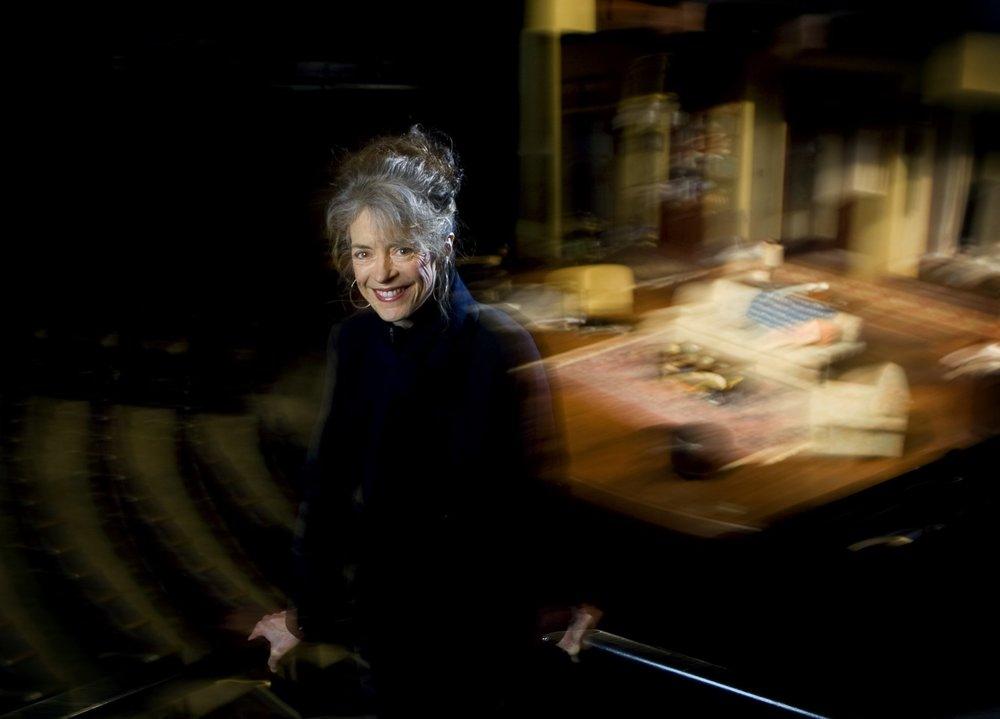 Martha Lavey at Steppenwolf Theatre