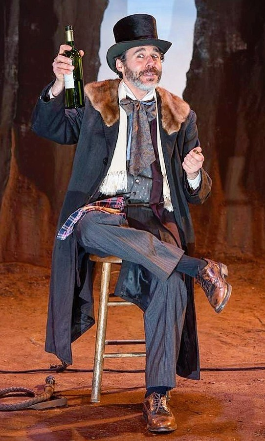 "As ""Pozzo"" in WAITING FOR GODOT (photo by Shawn May)"