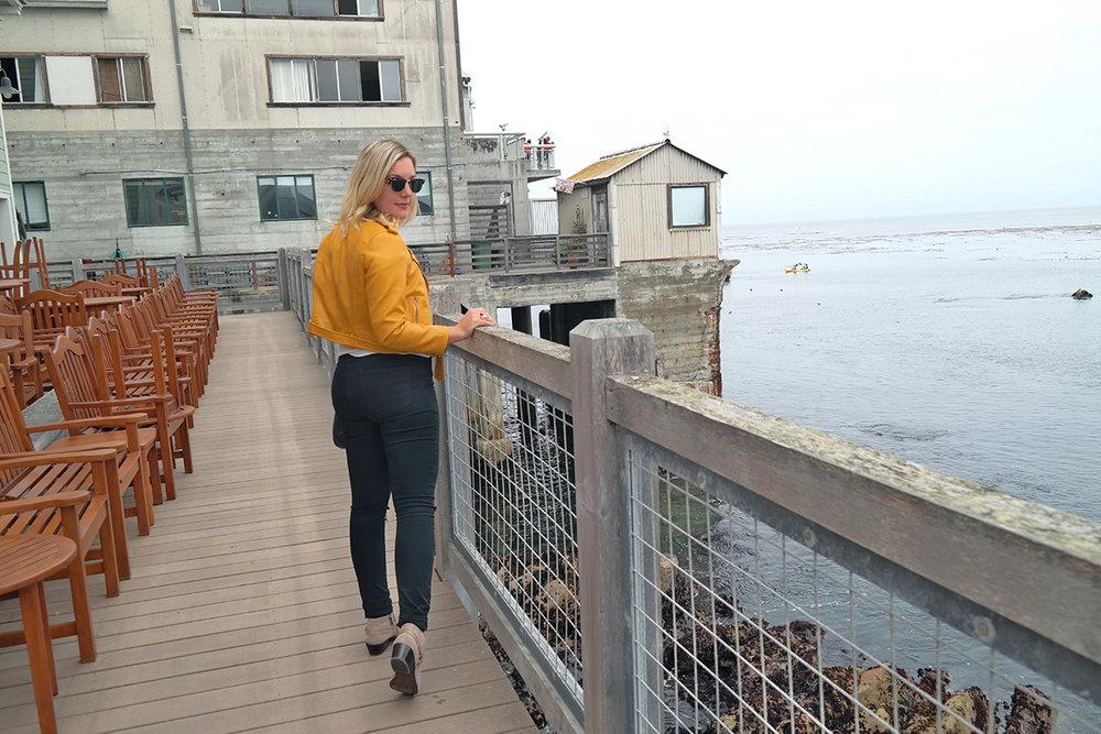 yellow zara jacket black pants faith in style 3.jpg