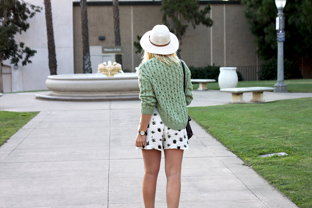 Green Sweater Topshop Shorts Faith in Style 2.jpg