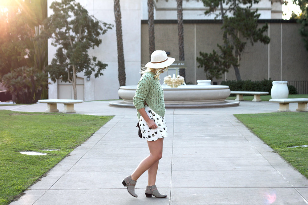 Green Sweater Topshop Shorts Faith in Style 8.jpg