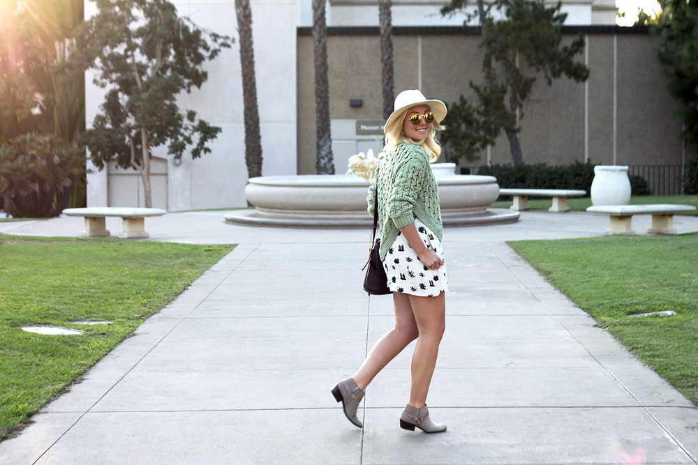 Green Sweater Topshop Shorts Faith in Style 6.jpg