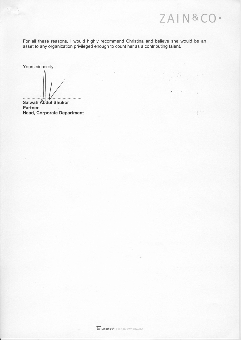 2013 - Legal - Zain & Co - Reference Letter p.2.jpg