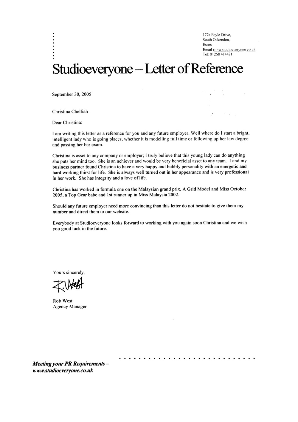 2005 - Modeling - Studio Everyone Agency - Reference Letter.jpg
