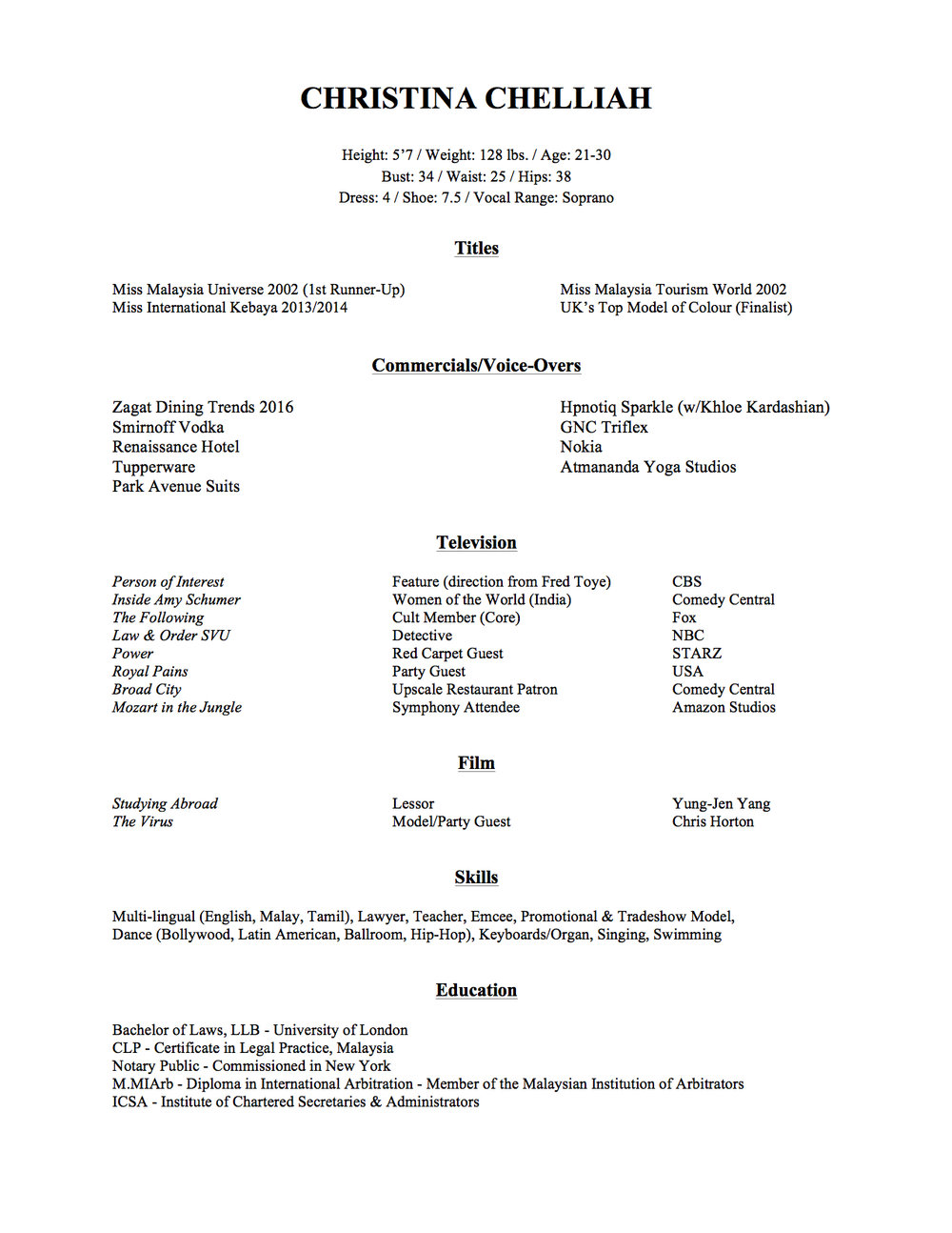 Acting Resume November 2016 (***FOR WEBSITE***).jpg