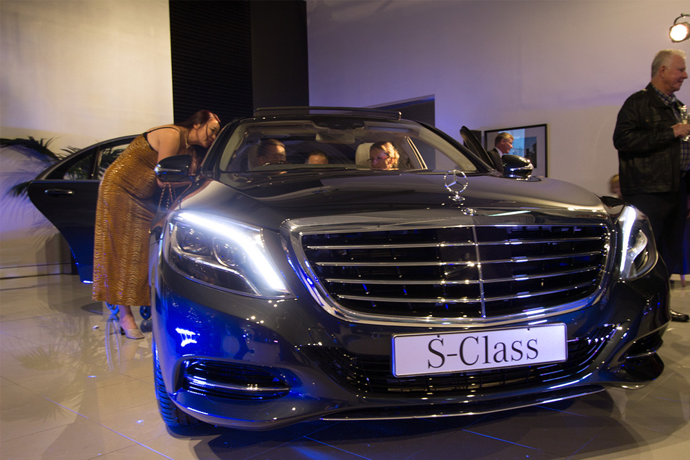 Front side view of the S500.