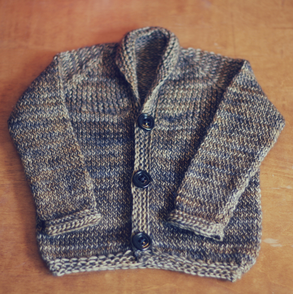 Free Knitting Pattern Twisted Stockinette Baby Cardigan The