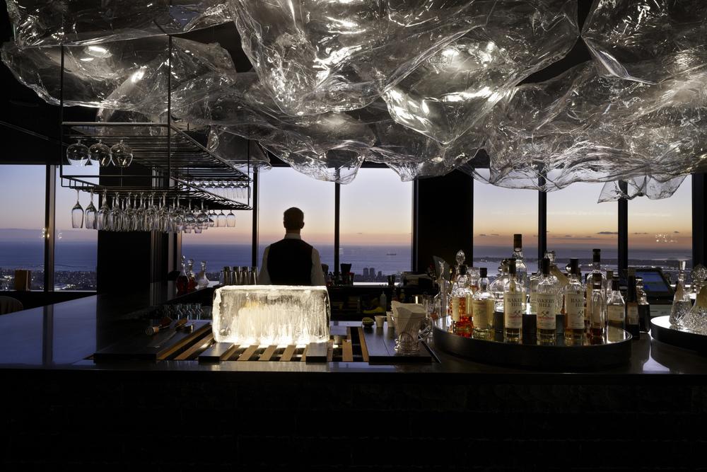 The Lui Bar at Vue de Monde.IMAGE: Supplied.