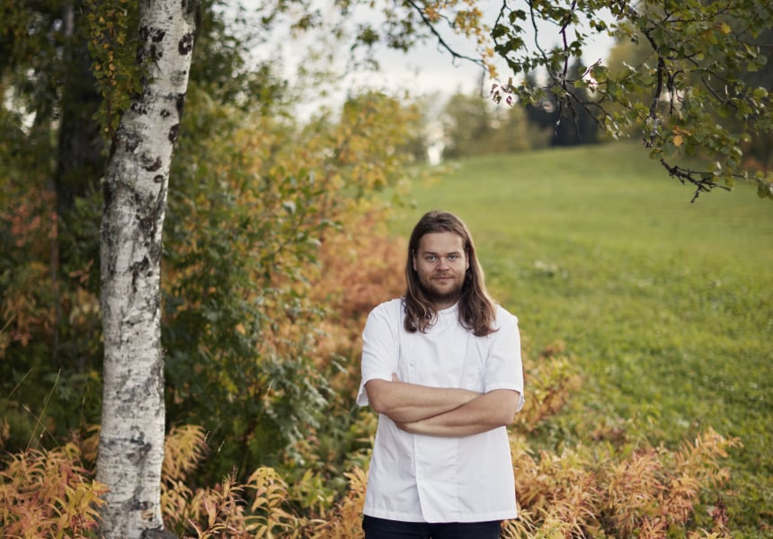Swedish chef, Magnus Nilsson. IMAGE: supplied.