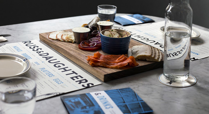 Russ & Daughters Cafe , New York City. IMAGE: supplied.