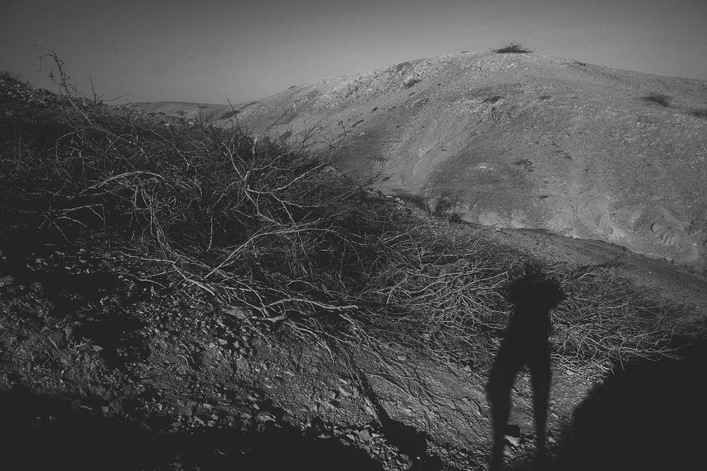 The baron landscape of the La Guajira desert.