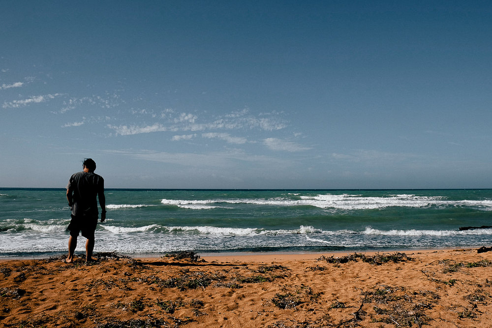 Punta Gallinas, the most northern point of Colombia.