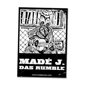 MADÉ J. PSYCHO HOBO STICKER / MUZAH VAN TRICHT SIZE: A7