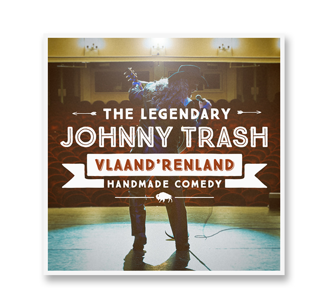 JOHNNY TRASH    VLAANDRENLAND     (SINGLE)