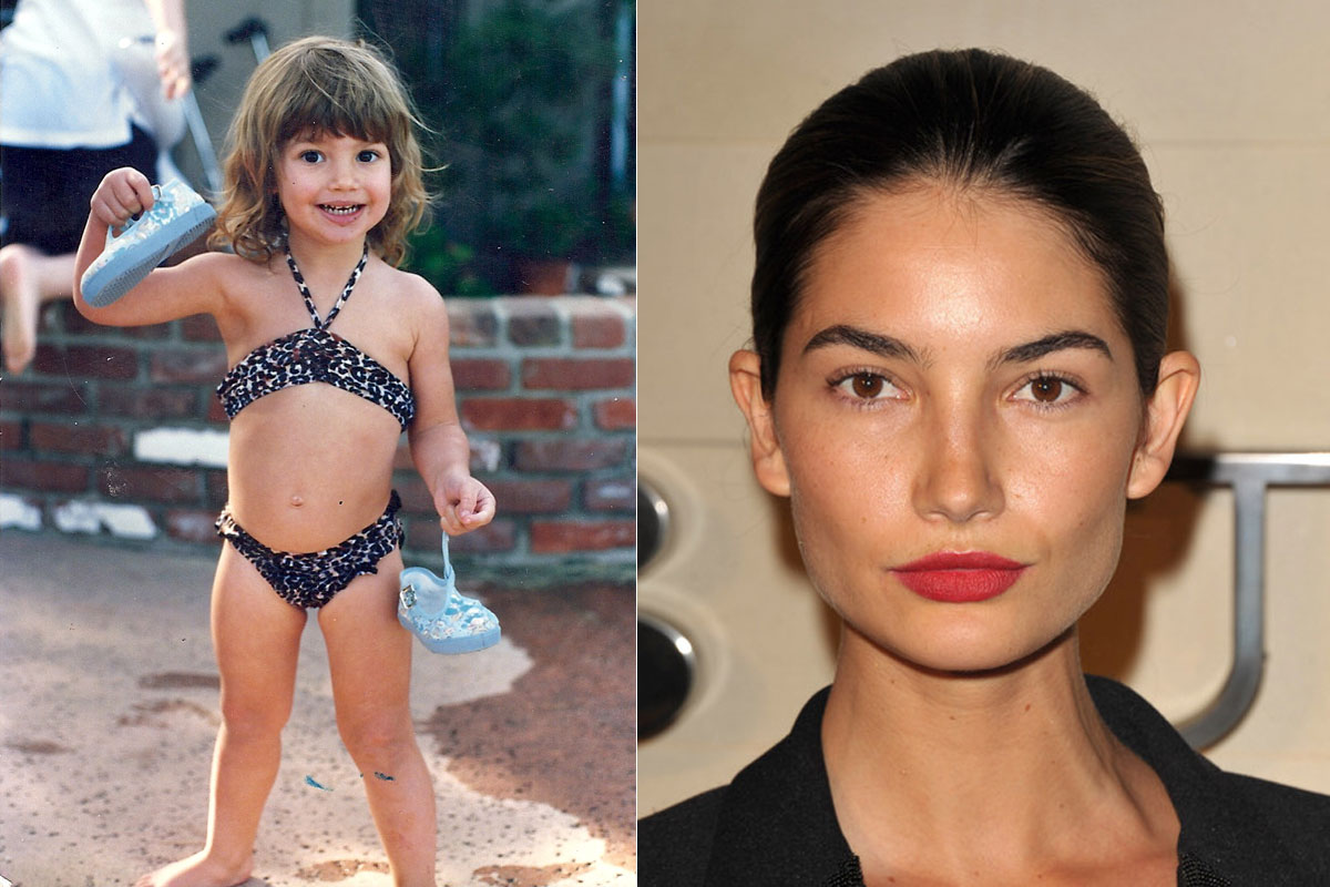Lily Aldridge.  Photo: Courtesy of Lily Aldridge, Imaxtree