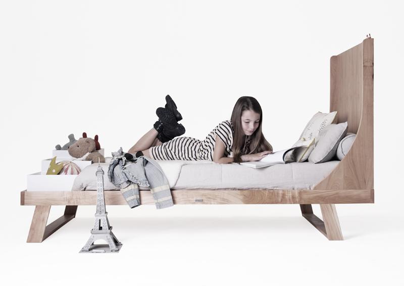 KRETHAUS-NIDO BED-TALL HEADBOARD