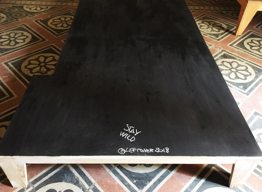LEFTOVER STAUWILD BLACKBOARD TABLE   2018.jpg