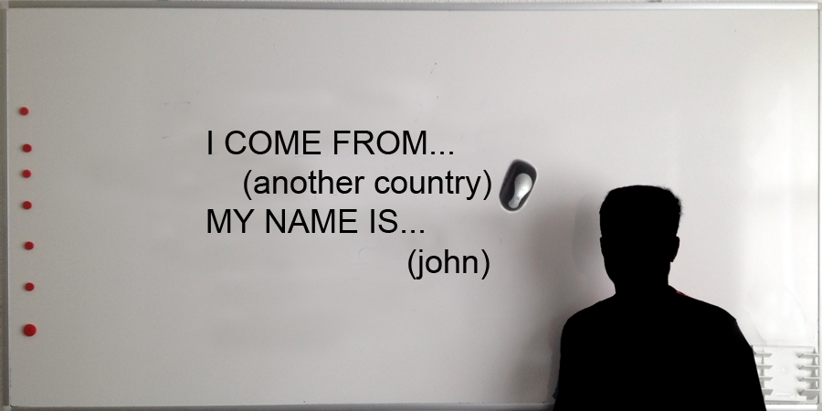 I come from another country - (c) mjs 2014