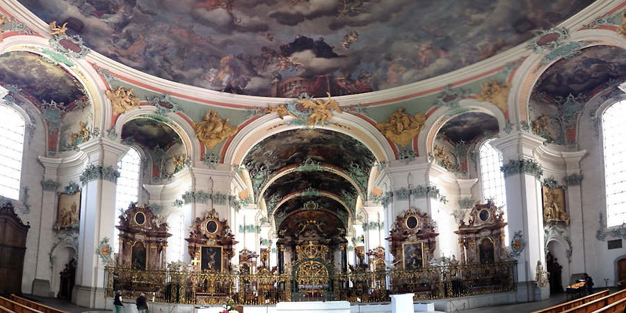 st.gall church (c) mark somple 2014 - click on image to see more about the st. gall library and other amazing ones on earth