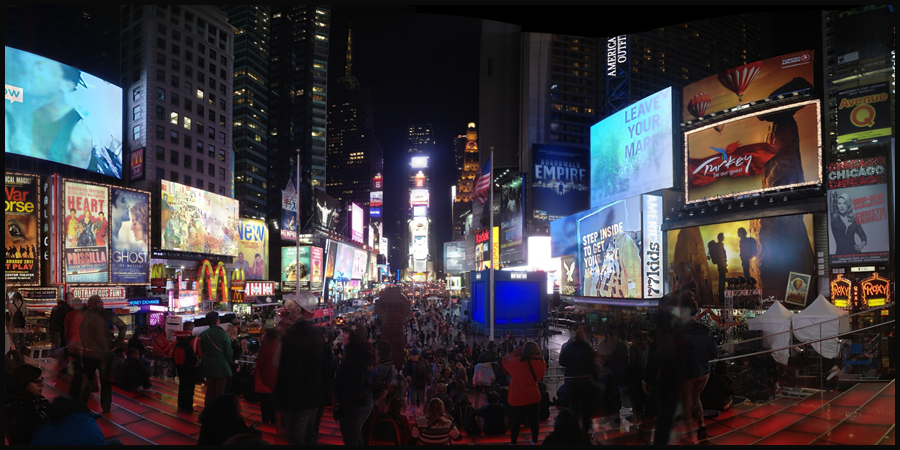 not alfred eisenstaedt's time square (c) mark somple 2014