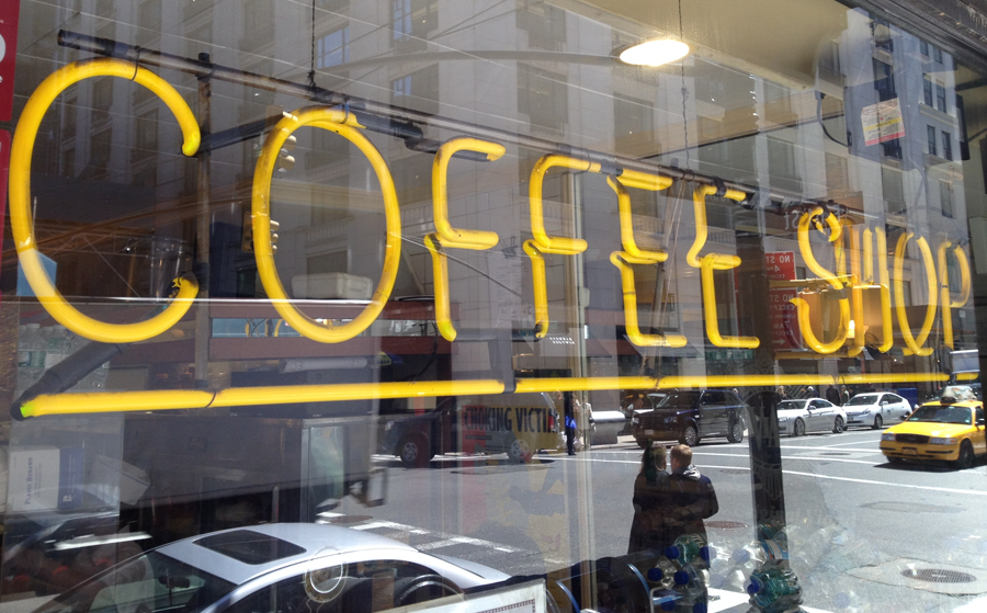 golden rectangle coffee (c) mark somple 2014