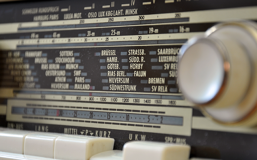 old time analog, with tubes - (c) mark somple 2014