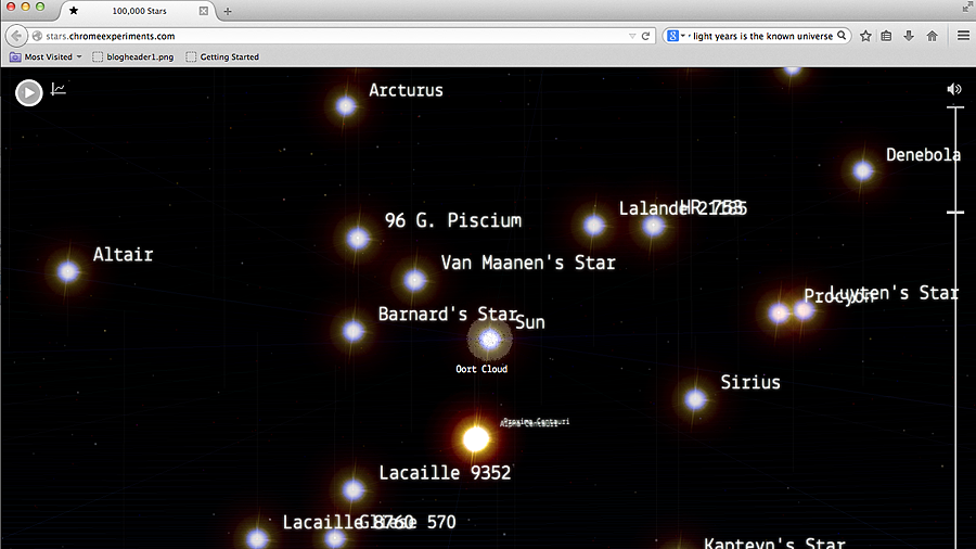 http://stars.chromeexperiments.com/