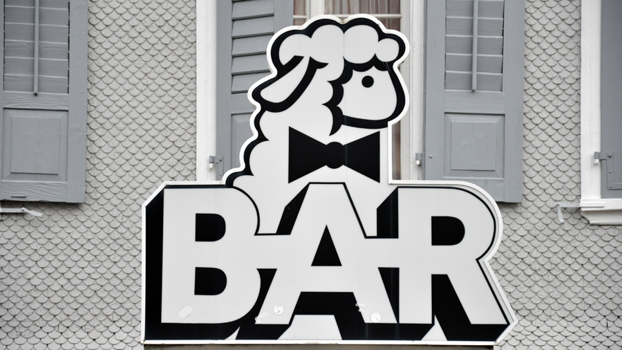one day a bartender walks into a sheep pen...(c) mark somple 2014