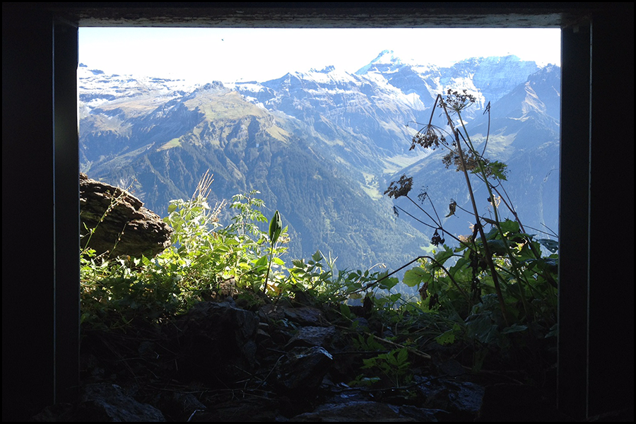 view when walking through a mountain tunnel (c) mark somple 2017