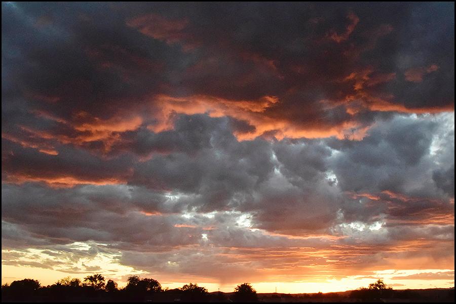 last nights sunset (c) mark somple 2017