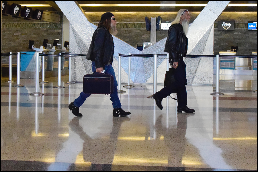 i call these two the airport x-men (c) mark somple 2017