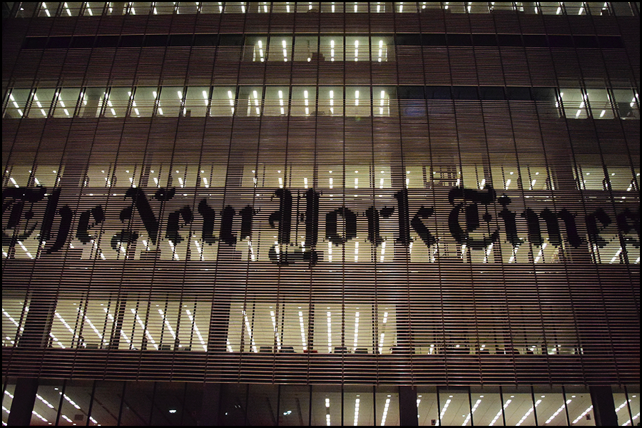 the ceo of the ny times thinks print in the usa has 10 years left. don't let deep journalism die?. (c) 2018