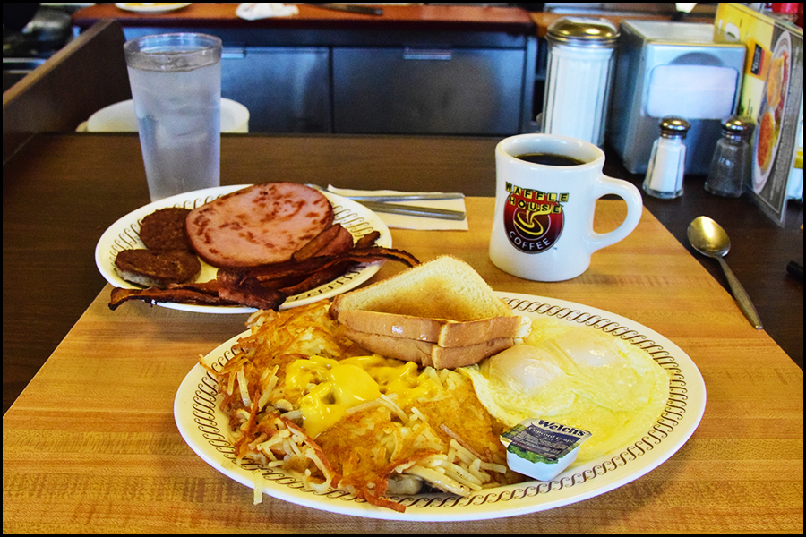 the sugar and lard food groups from the last road trip (c) mark somple