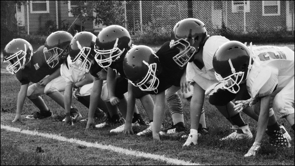 who knows, perhaps one of these kids will make the NFL? (c) mark somple 2018