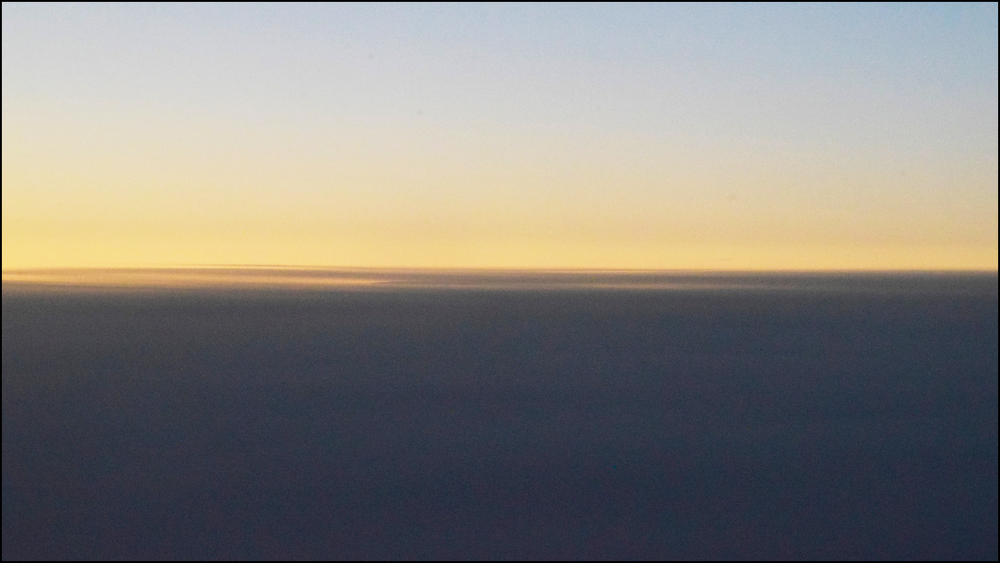 i do love the quiet of a plane ride (c) mark somple 2019