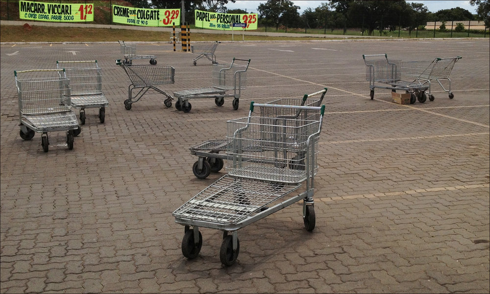 why would anyone take the time to put their carts back? what is the problem with not doing that? (c) mark somple 2019