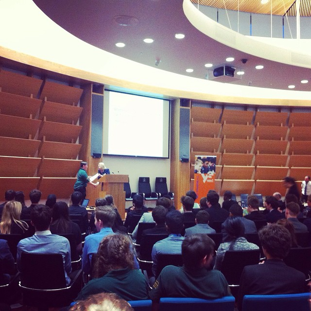 Aylesbury Vale Young Enterprise Presentation Awards Evening 2015