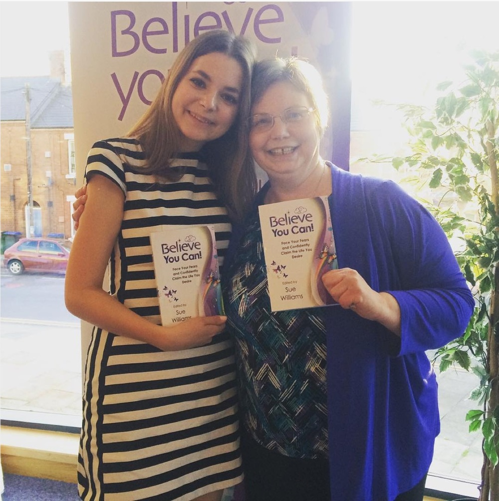 Sue Williams Becky Rui Believe! You Can Book Launch