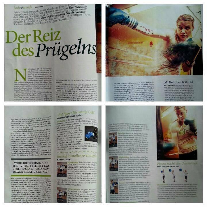 Sportmagazin Ladies 1/2015, Seite 46-49