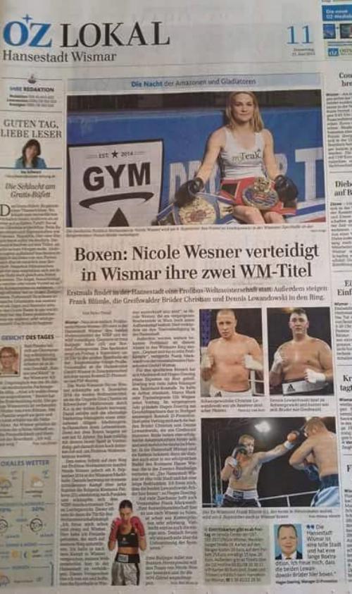 """""""Ostsee-Zeitung (22/06/2015)"""