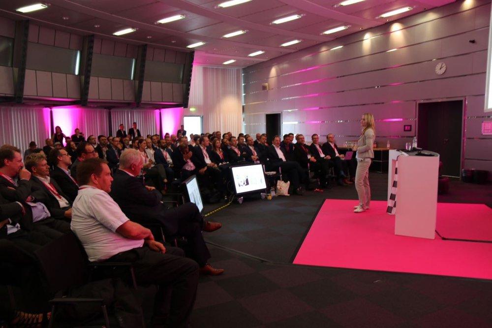 Vortrag bei Telekom Deutschland (Headquarter)
